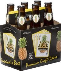 Ace Pineapple Cider (6PKB 12 OZ)