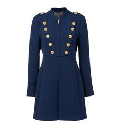 Larissa military coat - Forever New Street One, Street Style, Indigo, Forever New, Winter Coat, Personal Style, Raincoat, Cute Outfits, Fashion Looks