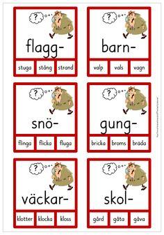 Free Teaching Resources, Teaching Tips, Swedish Language, Teacher Education, Teaching Materials, Montessori, Sweden, Kindergarten, Preschool
