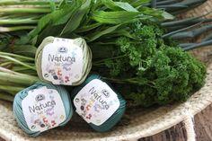 Image of DMC Natura Just Cotton - Delicious Mid/Dark Greens
