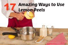 17 Amazing Ways to Use Lemon Peels