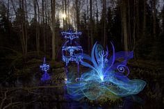 Light Painting - Hidden Treasure - Hannu Huhtamo - 3/05/2012 - Canon EOS 50D