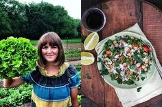 What better way to celebrate Edible Garden Month than with a Foodie Friday from an actual organic farmer? Andrea Bemis is a blogger and organic farmer from Oregon in the US. Her blog, Dishing Up The Dirt!, is a collection of recipes and stories from her life on the farm. Read More