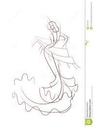 Image result for female flamenco dancer drawings