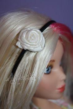 DIY Barbie headband tutorial