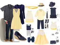 Top 10 Color Combos for Family Portraits - Spring / Summer 2014 Casual Family Photos, Summer Family Portraits, Fall Family Photo Outfits, Spring Family Pictures, Family Portrait Outfits, Family Pictures What To Wear, Family Picture Colors, Outdoor Family Photos, Family Pics