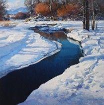 Liquid Zenith by Josh Elliott Oil ~ 24 x 24