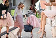 «Σκονισμένο» ροζ: Μία από τις ωραιότερες τάσεις της σεζόν! Tulle, Skirts, Fashion, Moda, Fashion Styles, Tutu, Skirt, Fashion Illustrations, Gowns