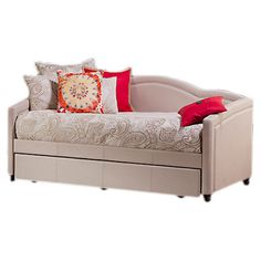 Featuring paisley-print upholstery and an arched silhouette, this charming daybed adds a touch of style to your guest room or den, while the trundle offers a...