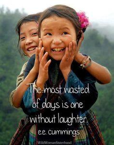 Un jour sans rire est un jour vraiment gâché - #Citation pour penser - laughter I laughed plenty today!!!!