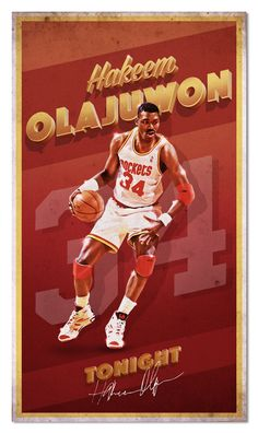 f3f7b4686c3 491 Best Hakeem Olajuwon images in 2019