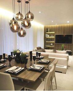 100 lustres para a sala de jantar da sua casa ficar ainda mais bonita