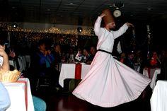 Türk külütürü danslar eşliğinde yasamaya ne dersiniz Semazen gösterisi, roman havası, zeybek, yöresel bıcaklı dans, kafkaf dansı, oryantel