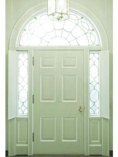 How beautiful. Like the inside shutters for the side lights.