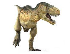 tyrannosaurus color, via Flickr.