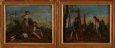 Pastorala landskap 1700-tal