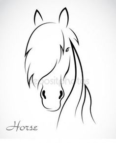 Newest Cost-Free Animal Crafts horse Style Document platter family pets are a great children craft idea. Many are incredibly simple and easy , inexpensi Easy Horse Drawing, Horse Drawings, Horse Stencil, Horse Silhouette, Animal Crafts, Horse Art, Easy Drawings, Cute Easy Animal Drawings, Line Drawing