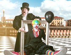 "Check out new work on my @Behance portfolio: ""Trial work clown poster"" http://be.net/gallery/49842709/Trial-work-clown-poster"