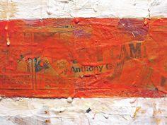 """Jasper Johns Flag """"detail"""" (1954)"""