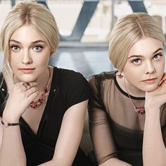 Dakota e Elle Fanning.