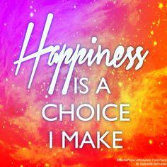 I choose what I want to create