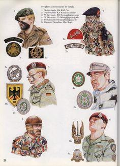 Compañía de Reconocimiento e Incursión; Anime Military, Military Gear, Military History, Military Uniforms, Uniform Insignia, Military Insignia, Army Beret, Army Infantry, Military Pictures