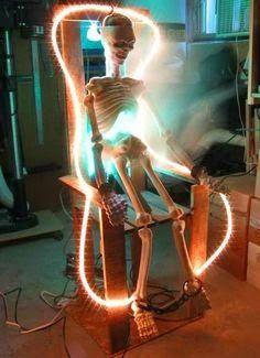LED rope lights for Halloween
