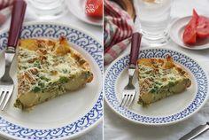 Картофель запеченый с яйцом и зеленым горошком (аля фритата) - HAPPYFOOD