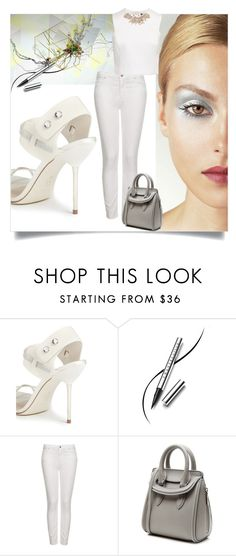 """Heels & Jeans"" by belldraw ❤ liked on Polyvore featuring Pedro García, Chantecaille, Topshop, Alexander McQueen and Ted Baker"