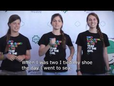 Girl Scouts have awesome videos teaching some fun songs Girl Scout Camp Songs, Girl Scout Activities, Girl Scout Camping, Letter Activities, Music Activities, Silly Songs, Fun Songs, Songs To Sing, Pirate Songs