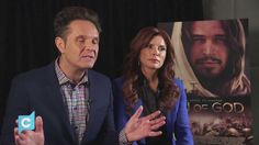 Executive producers, Mark Burnett and Roma Downey give us insight into the film. Mark Burnett, Roma Downey, Life Of Christ, Son Of God, Executive Producer, Great Stories, Tv Series, Insight, Sons