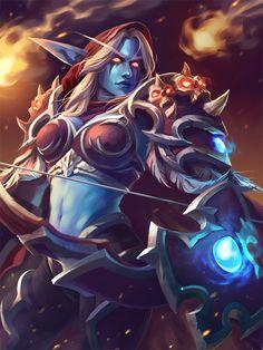 World of Warcraft World Of Warcraft Game, World Of Warcraft Characters, Warcraft Art, Fantasy Characters, Dnd Characters, Beautiful Fantasy Art, Dark Fantasy Art, Wild Creatures, Fantasy Creatures