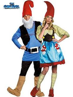 Ms Gnome Costumes | Cheap Womens Smurfs Adults Halloween Costume