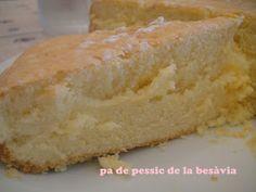 The great grandmother's sponge cake - El pa de pessic de la besàvia - no tot són postres... a la cuina