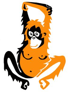 WildthingsWorldWide new orangutan design. New product is being designed across our vast range of endangered animal merchandise over the next 2 weeks. remember 25% of sales are donated to animal welfare orbs. See website for details. www.wildthingsworldwide.com.au Orangutan illustration.