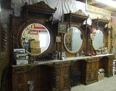 antique barber shop