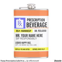 Prescription Coffee Mug | Funny Prescription Labels | Pinterest ...