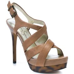 JESSICA SIMPSON : ENDO - WOOD LEATHER