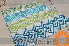 Piece N Quilt: Over Under ~ A Piece N Quilt Original Design