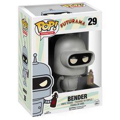 Funko Pop! - Bender 29 - ¡Funko Pop! por Futurama