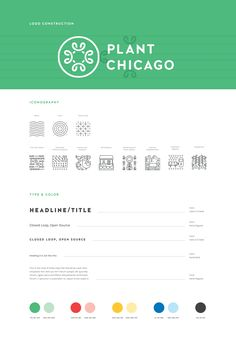 Plant Chicago Logo Construction + Brand Standards