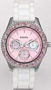 Pink Fossil Watch Breast Cancer Awareness
