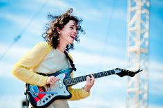 Annie Clark of St. Vincent by gussifer