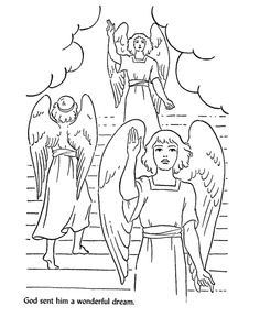 jacobs dreams coloring pages - photo#24