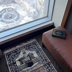 In shaa Allah i want that room! Mecca Masjid, Masjid Al Haram, Mekka Islam, Girl Beach Pictures, Quran Book, Mekkah, Islamic Prayer, Islamic Quotes, Love In Islam