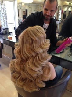 Big bouncy curls
