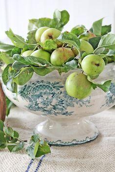 applecottage.quenalbertini: Green apples