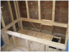 construct a frame for tub/deck surround - Google Search