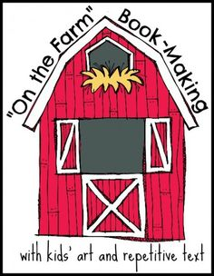 """On the Farm"" Book-Making with Preschoolers -"