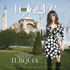 Shangay Voyager 6 lleva a Merche de turismo por Turquía.  Voyager es un suplemento gratuito de Shangay, centrado en propuestas relacionadas con el turismo.